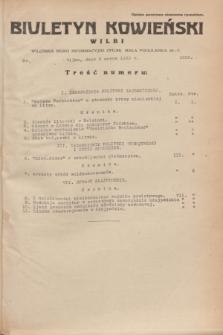 Biuletyn Kowieński Wilbi. 1935, nr 1239 (6 marca)