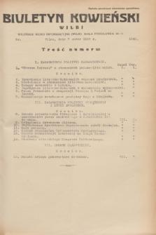 Biuletyn Kowieński Wilbi. 1935, nr 1240 (7 marca)