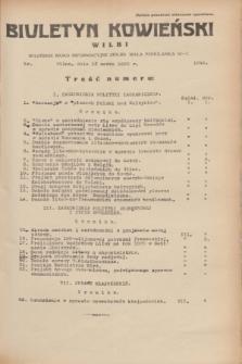 Biuletyn Kowieński Wilbi. 1935, nr 1245 (13 marca)