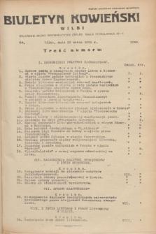 Biuletyn Kowieński Wilbi. 1935, nr 1246 (15 marca)