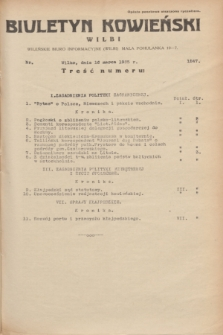 Biuletyn Kowieński Wilbi. 1935, nr 1247 (16 marca)