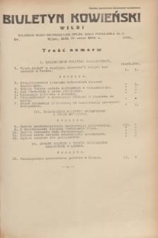 Biuletyn Kowieński Wilbi. 1935, nr 1248 (18 marca)