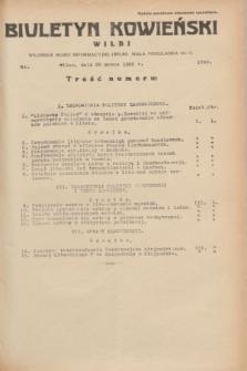 Biuletyn Kowieński Wilbi. 1935, nr 1249 (20 marca)