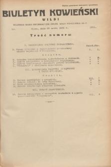 Biuletyn Kowieński Wilbi. 1935, nr 1251 (22 marca)