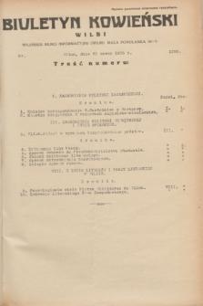 Biuletyn Kowieński Wilbi. 1935, nr 1252 (23 marca)