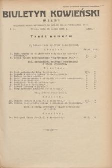 Biuletyn Kowieński Wilbi. 1935, nr 1255 (28 marca)