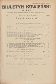 Biuletyn Kowieński Wilbi. 1935, nr 1256 (29 marca)