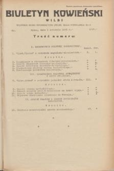 Biuletyn Kowieński Wilbi. 1935, nr 1258 (1 kwietnia)