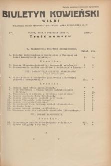 Biuletyn Kowieński Wilbi. 1935, nr 1259 (3 kwietnia)