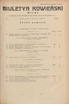 Biuletyn Kowieński Wilbi. 1935, nr 1260 (4 kwietnia)