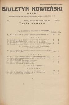 Biuletyn Kowieński Wilbi. 1935, nr 1261 (5 kwietnia)