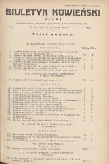 Biuletyn Kowieński Wilbi. 1935, nr 1266 (15 kwietnia)
