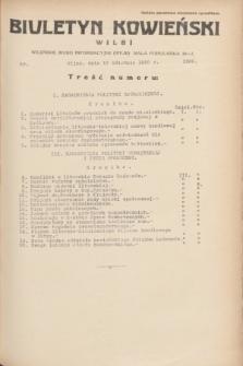 Biuletyn Kowieński Wilbi. 1935, nr 1268 (17 kwietnia)