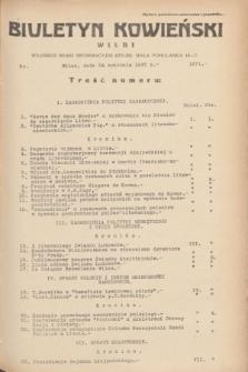 Biuletyn Kowieński Wilbi. 1935, nr 1271 (24 kwietnia)