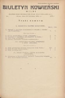 Biuletyn Kowieński Wilbi. 1935, nr 1272 (25 kwietnia)