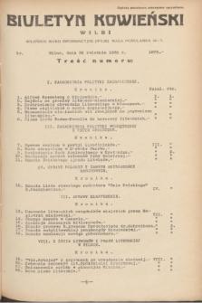 Biuletyn Kowieński Wilbi. 1935, nr 1273 (26 kwietnia)