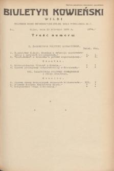 Biuletyn Kowieński Wilbi. 1935, nr 1274 (30 kwietnia)