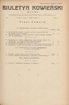 Biuletyn Kowieński Wilbi. 1935, nr 1275 (1 maja)