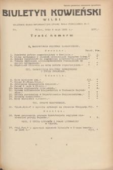 Biuletyn Kowieński Wilbi. 1935, nr 1277 (4 maja)