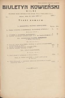 Biuletyn Kowieński Wilbi. 1935, nr 1283 (11 maja)