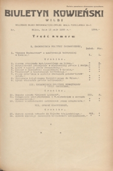 Biuletyn Kowieński Wilbi. 1935, nr 1284 (13 maja)