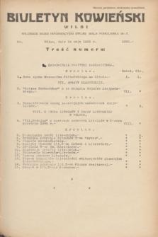 Biuletyn Kowieński Wilbi. 1935, nr 1285 (14 maja)