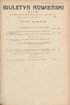 Biuletyn Kowieński Wilbi. 1935, nr 1286 (15 maja)