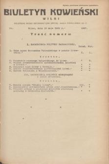Biuletyn Kowieński Wilbi. 1935, nr 1287 (16 maja)