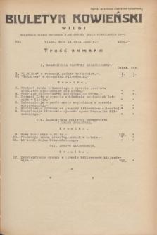 Biuletyn Kowieński Wilbi. 1935, nr 1288 (18 maja)