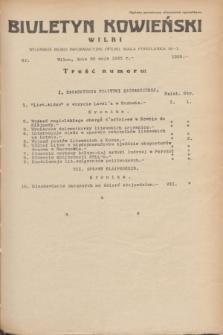 Biuletyn Kowieński Wilbi. 1935, nr 1289 (20 maja)