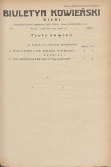 Biuletyn Kowieński Wilbi. 1935, nr 1291 (23 maja)