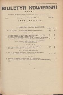 Biuletyn Kowieński Wilbi. 1935, nr 1292 (24 maja)