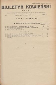Biuletyn Kowieński Wilbi. 1935, nr 1293 (25 maja)