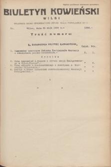 Biuletyn Kowieński Wilbi. 1935, nr 1296 (31 maja)