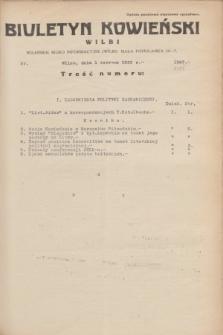 Biuletyn Kowieński Wilbi. 1935, nr 1297 (1 czerwca)