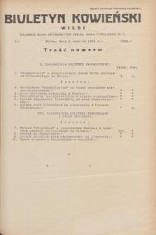 Biuletyn Kowieński Wilbi. 1935, nr 1298 (3 czerwca)