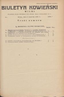 Biuletyn Kowieński Wilbi. 1935, nr 1299 (4 czerwca)
