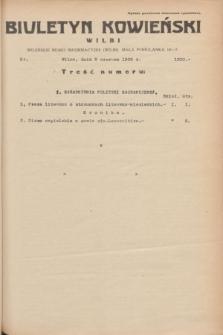 Biuletyn Kowieński Wilbi. 1935, nr 1300 (5 czerwca)