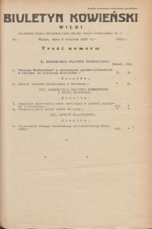 Biuletyn Kowieński Wilbi. 1935, nr 1301 (6 czerwca)