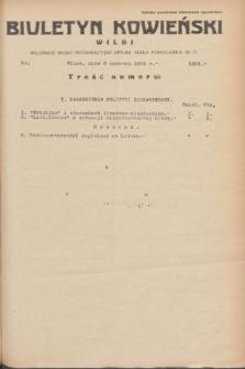 Biuletyn Kowieński Wilbi. 1935, nr 1303 (8 czerwca)