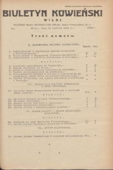 Biuletyn Kowieński Wilbi. 1935, nr 1304 (11 czerwca)