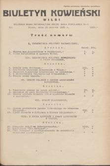 Biuletyn Kowieński Wilbi. 1935, nr 1305 (13 czerwca)