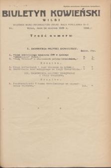 Biuletyn Kowieński Wilbi. 1935, nr 1306 (14 czerwca)