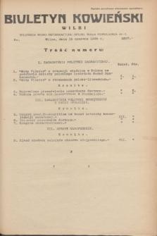 Biuletyn Kowieński Wilbi. 1935, nr 1307 (15 czerwca)