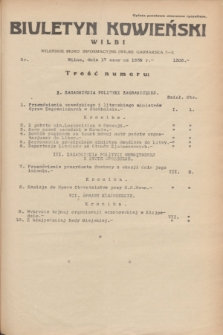Biuletyn Kowieński Wilbi. 1935, nr 1308 (17 czerwca)