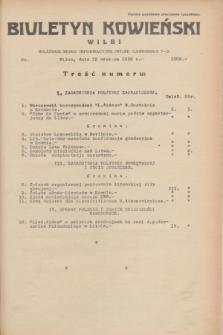 Biuletyn Kowieński Wilbi. 1935, nr 1309 (19 czerwca)