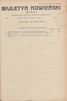 Biuletyn Kowieński Wilbi. 1935, nr 1310 (21 czerwca)