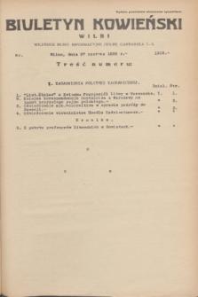 Biuletyn Kowieński Wilbi. 1935, nr 1312 (27 czerwca)