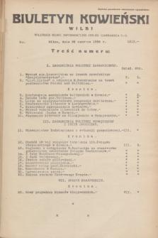 Biuletyn Kowieński Wilbi. 1935, nr 1313 (28 czerwca)