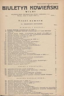 Biuletyn Kowieński Wilbi. 1935, nr 1316 (4 lipca)